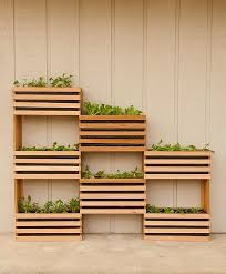 view in gallery vertical garden diy using wooden boxes green diy craft your own vertical vegetable garden that