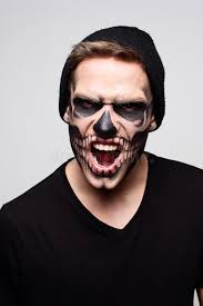living dead boy stock photo image of black face indoor 62907422