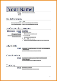 Word Resume Templates 2017 Blank Resume Template FlatOutFlat Templates 67