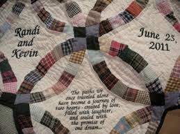 Bluebird Gardens Quilts and Gifts & COUNTRY DOUBLE WEDDING RING QUILT Adamdwight.com