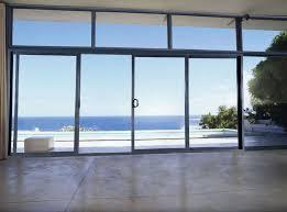 overwhelming building sliding door commercial building burglar proof aluminum automatic sliding door