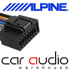 alpine car radio wiring residential electrical symbols \u2022 alpine car stereo wiring harness autoleads pc3 462 alpine 16 pin iso car stereo radio wiring harness rh ebay ie alpine car radio wiring alpine car radio wiring