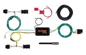 jeep renegade 2015 2016 wiring kit harness curt mfg 56274 jeep renegade trailer wiring kit 2015 2016 by curt mfg 56274