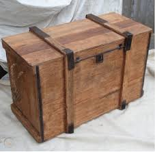 blanket box pirate chest coffee table