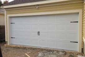 carriage garage door no window