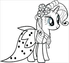Pony Colouring Pages To Print My Little Pony Coloring Sheets To