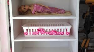 Lalaloopsy Bedroom Furniture Home Built Doll Wardrobe Closet Organizer For American Girl