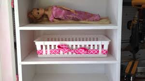 home built doll wardrobe closet organizer for american girl barbies lalaloopsy etc dolls you