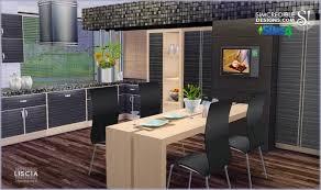 sims 4 kitchen design. liscia kitchen at simcredible designs 4 sims design n