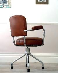 office chair vintage. Blue Leather Office Chair Vintage Wonderful Retro Tufted Executive O