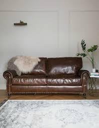 Antique Leather Sofa Bed Centerfieldbar Com