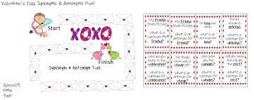 Valentine's Day Synonyms & Antonyms Fun!