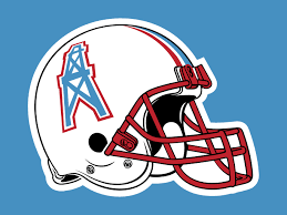 Houston Oilers Logo On Chris Creamer