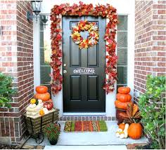 fall front door decorations138 best Decorating Doors for the Fall Holidays images on