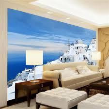 photo wallpaper custom 3d mural living ...