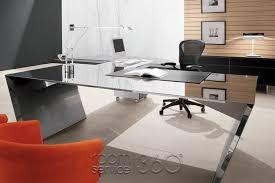 stainless steel office desk. vega modern office desk by cattelan italia stainless steel f