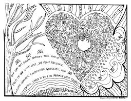 Small Picture The Fruit of the Holy Spirit Coloring Page