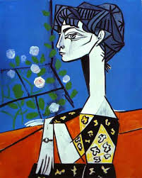 picasso complete works pablo picasso jacqueline with flowers 1954