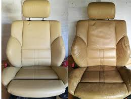 steps to clean the leather car seats