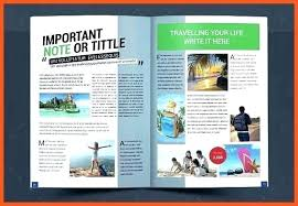 Free Magazine Template For Microsoft Word Fabulous Fashion Magazine Templates For Free Download 9