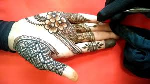 Haya Henna Designs New Grid Style Flower Mehandi Design Haya Mehandi Design