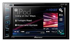 indash truck rv campervan and electronics pioneer avh 280bt in dash multimedia receiver featuring bluetooth hands calling audio streaming and dvd cd playback