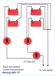 planning a dual battery setup and accessories at marine best of boat battery switch wiring diagram at Dual Battery Switch Wiring Diagram