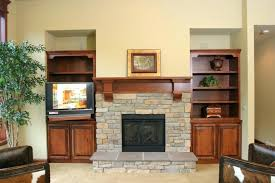 brick fireplace mantel design ideas mantels with stone pictures modern