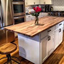 small kitchen island butcher block. Interesting Small Beautiful Portable Kitchen Island With Butcher Block Top  Cart Material Countertop Of And Small T