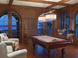 Wooden Games Room Luxury Game Room Design With Excellent Chandelier And Wooden 14
