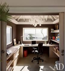 office room decoration. Wonderful Office Journalist Dena Kaye And Her Partner Designer Dick Fallin Modernized  Their House On St For Office Room Decoration O