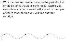 infinite solutions to trigonometric equations 3 with