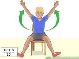 image titled exercise your abs while sitting step 6