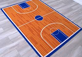 handcraft rugs kids rugs play time basketball court non slip rubber