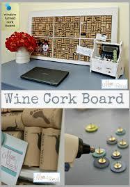 make a diy cork topped coffee table