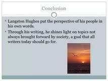 langston hughes essays example of apa essay what is a good langston hughes essays
