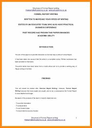 Short Report Format.short Report Format Ultramodern Concept For ...