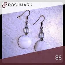 White <b>Discs</b> Sweet, white <b>earrings</b> go with anything! <b>Jewelry</b> ...