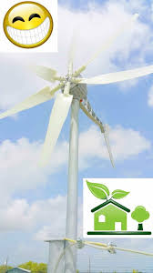 picture of installing a wind turbine to help power my home
