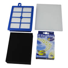 electrolux air filter. electrolux super cyclone / xl starter kit - genuine hepa filter pack vcsk4 air
