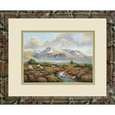 "Classy Art""34 in. x 40 in. ""Ben Nevis"" By Wendy Reeves Framed Print Wall  Art - Classy Art DM5692B""   DailyMail"