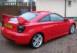 CELICA GT 190, LIMITED EDITION, 6 SPEED, CHILLI RED, AERO KIT..