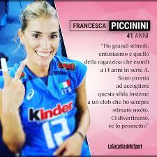 Francesca Piccinini torna a giocare!... - La Gazzetta dello ...