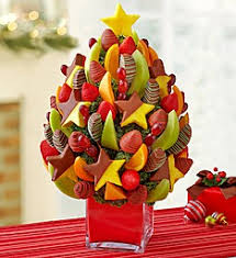 fruit christmas tree. Exellent Christmas Christmas Tree Fruit Bouquet And E