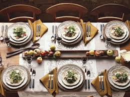 Setting A Dinner Table Casual Dining Room Fall Dinner Party Table Setting Ideas Dinner