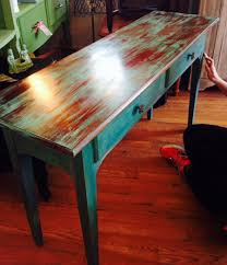 How To Distress Wood Furniture With Chalk Paint How To Distress
