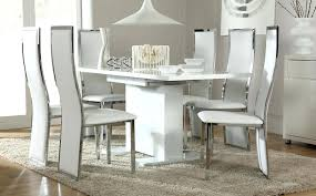 white high gloss dining table white dining room table high gloss white high gloss dining table