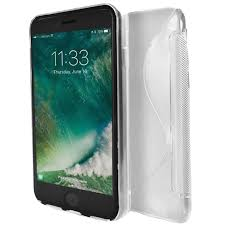 Apple - iPhone 8 Plus - White - S Line Gel Soft Silicone Case
