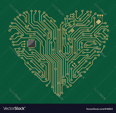 Motherboard Design Motherboard Computer Heart