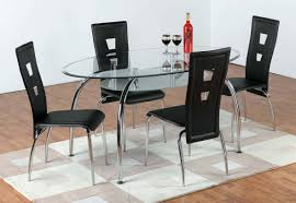 oval glass dining table  tjihome